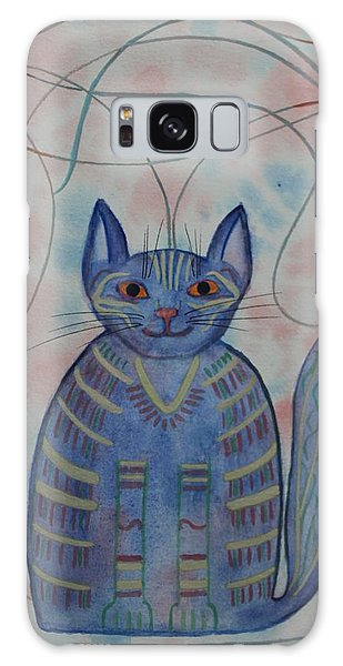 Connection Cat  Galaxy Case