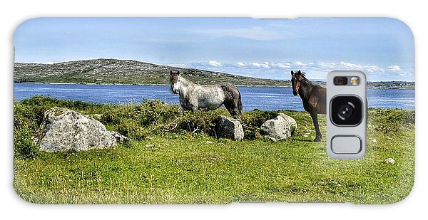 Connemara Ponies Galaxy Case