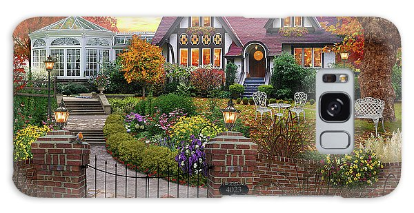 Bricks Galaxy Case - Conservatory House  by MGL Meiklejohn Graphics Licensing