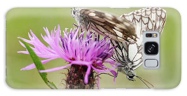 Contact - Butterflies On The Bloom Galaxy Case by Michal Boubin
