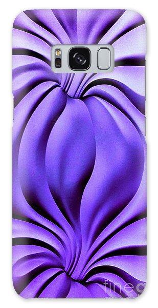 Contemplation In Purple Galaxy Case