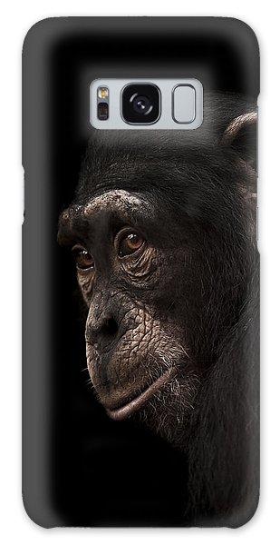 Chimpanzee Galaxy S8 Case - Contemplation by Paul Neville