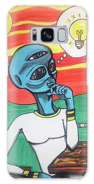 Contemplative Alien Galaxy Case