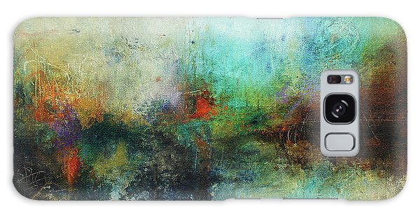 Contemporary Abstract Art Painting Galaxy Case
