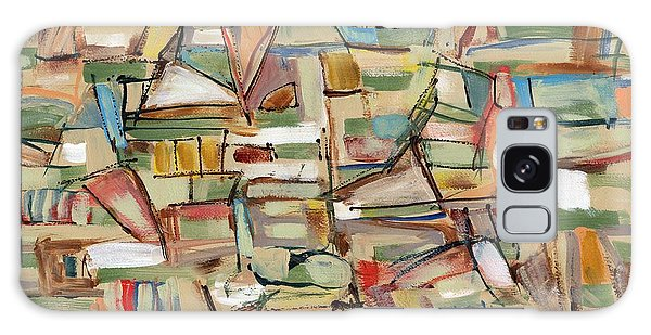 Contemporary Art Forty-eight Galaxy Case by Lynne Taetzsch