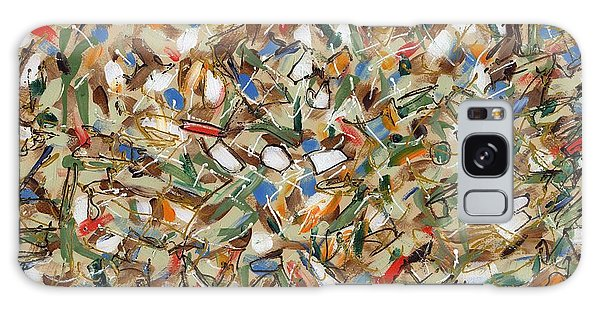Contemporary Art Forty-seven Galaxy Case by Lynne Taetzsch