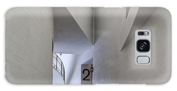 Contemporary Art Museum Interior Galaxy Case by Margaret Brooks
