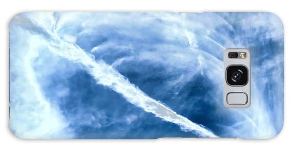 Contrail Concentricities Galaxy Case