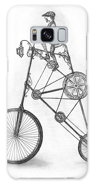 Pen And Ink Drawing Galaxy Case - Contraption by Adam Zebediah Joseph