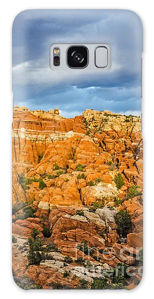 Contrasts In Arches National Park Galaxy Case