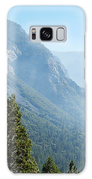 1 Of 4 Controlled Burn Of Yosemite Section Galaxy Case