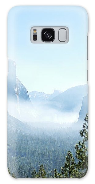2 Of 4 Controlled Burn Of Yosemite Section Galaxy Case