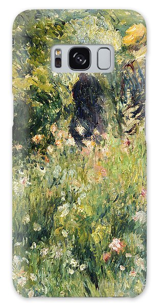 Conversation In A Rose Garden Galaxy Case
