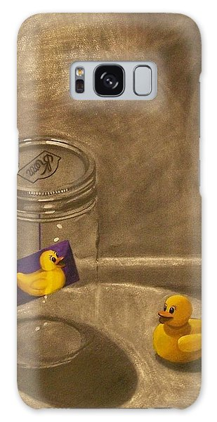 Conversing Ducks Galaxy Case