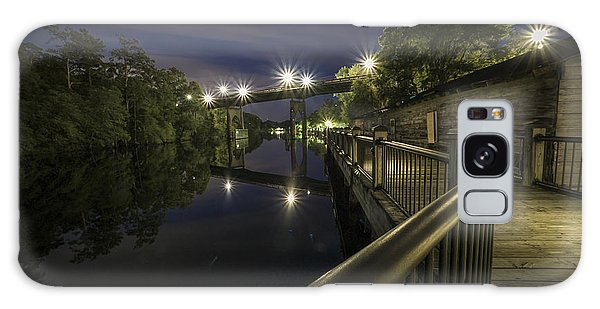 Conway Riverwalk Morning Galaxy Case