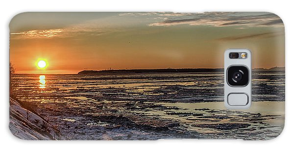Galaxy Case featuring the photograph Cook Inlet Sunset Alaska  by Michael Rogers