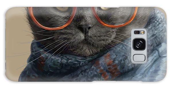 Hair Galaxy Case - Cool Cat by Lucie Bilodeau