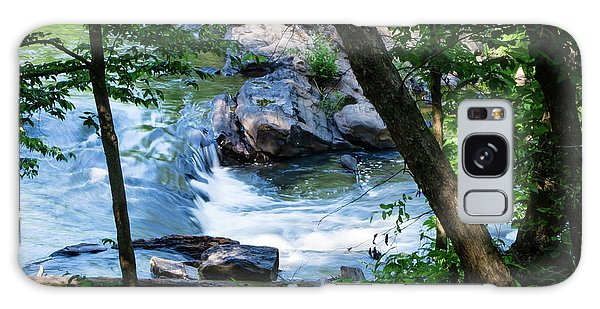 Cool Mountain Stream Galaxy Case