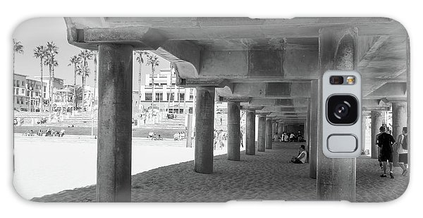 Galaxy Case featuring the photograph Cool Off In The Shade Of The Pier by Ana V Ramirez