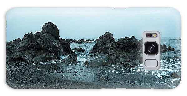 Galaxy Case - Cool Rocks At The Seashore by Iordanis Pallikaras
