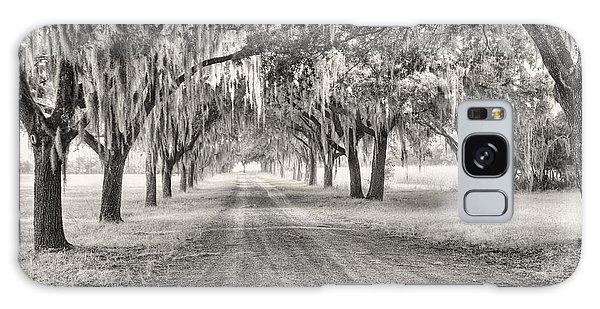 Coosaw Plantation Avenue Of Oaks Galaxy Case