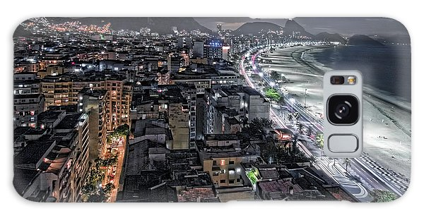 Copacabana Lights Galaxy Case