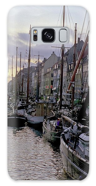 Galaxy Case featuring the photograph Copenhagen Quay by Frank DiMarco