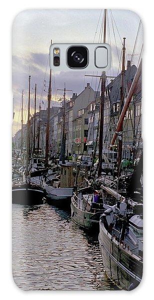 Copenhagen Quay Galaxy Case