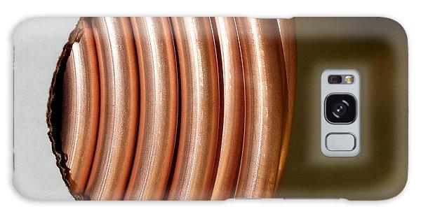 Copper Curves Galaxy Case