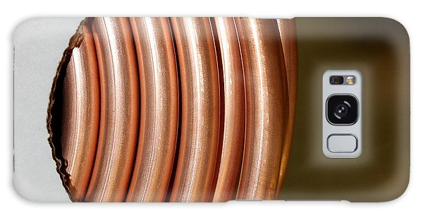 Copper Curves Galaxy Case