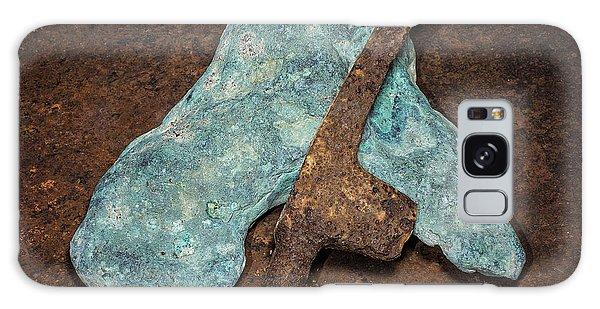 Copper Nugget Rock Hammer Galaxy Case