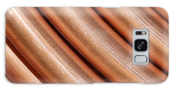 Copper Pipes Galaxy Case