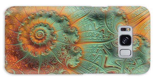Copper Verdigris Galaxy Case