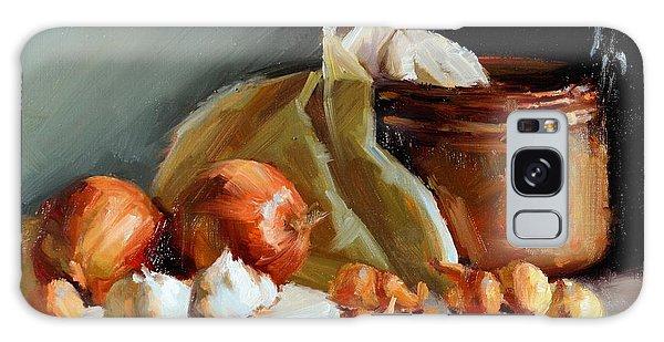 Copper Vessel And Onions Galaxy Case