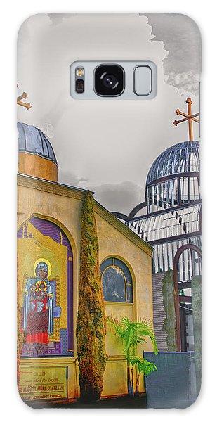 Coptic Church Rebirth Galaxy Case by Joseph Hollingsworth
