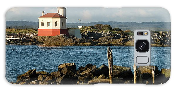 Coquille River Lighthouse Bandon Oregon Galaxy Case