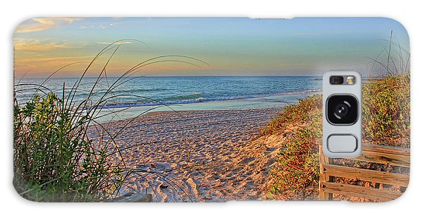 Coquina Beach By H H Photography Of Florida  Galaxy Case by HH Photography of Florida