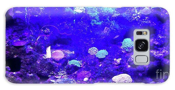 Galaxy Case featuring the digital art Coral Art 2 by Francesca Mackenney
