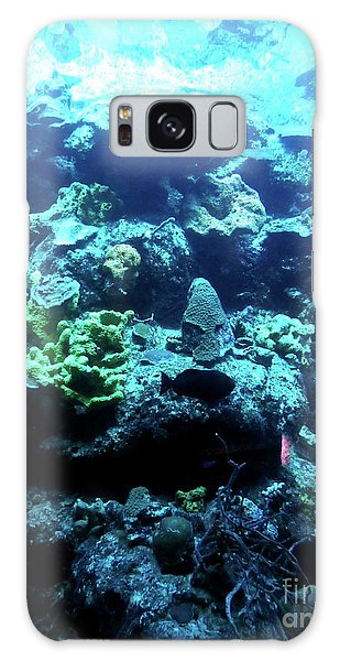 Galaxy Case featuring the photograph Coral Art 4 by Francesca Mackenney