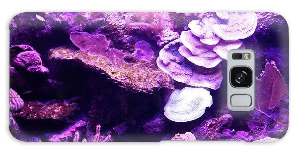 Galaxy Case featuring the digital art Coral Art 5 by Francesca Mackenney