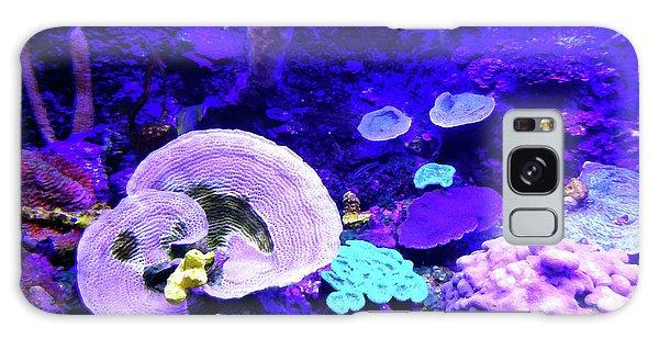 Galaxy Case featuring the digital art Coral Art by Francesca Mackenney