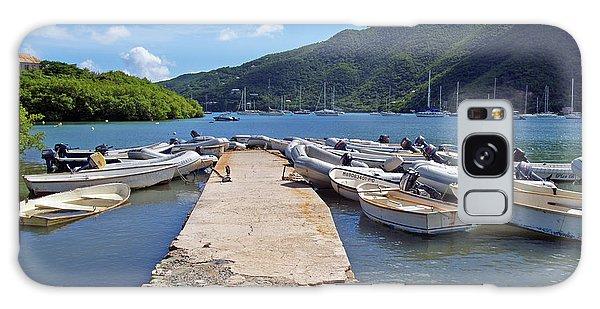 Coral Bay Dinghy Dock Galaxy Case