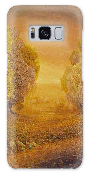 Galaxy Case - Coral Dawn by Jacki Randall
