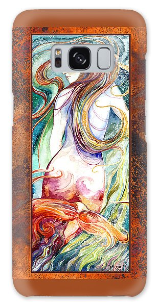 Coral Mermaid Galaxy Case by Ragen Mendenhall