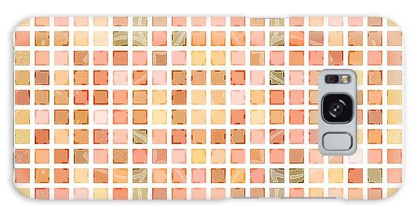 Galaxy Case featuring the digital art Coral Ocean Tiles by Joy McKenzie