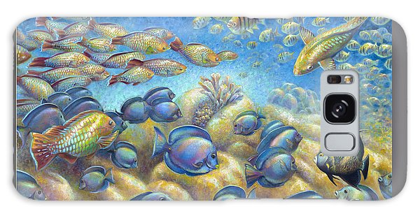 Coral Reef Life Silvers Galaxy Case