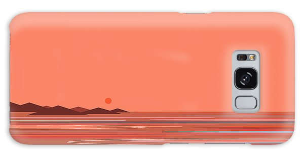 Coral Sea Galaxy Case by Val Arie