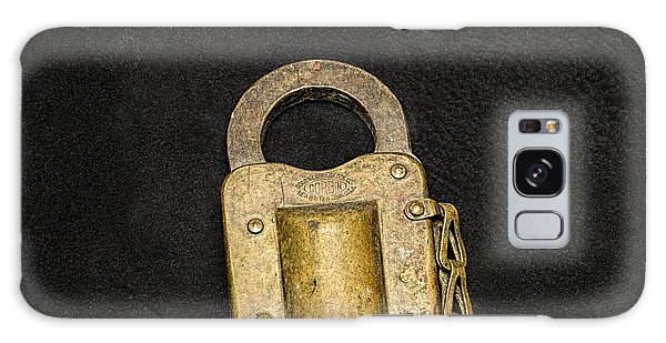 Galaxy Case featuring the photograph Corbin Padlock by Fred Denner