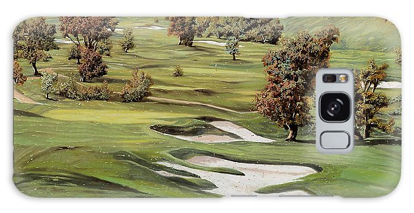 Sports Galaxy Case - Cordevalle Golf Course by Guido Borelli