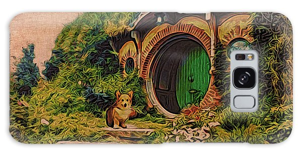 Corgi At Hobbiton Galaxy Case